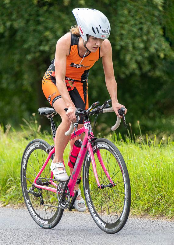 Gauntlet cyclist