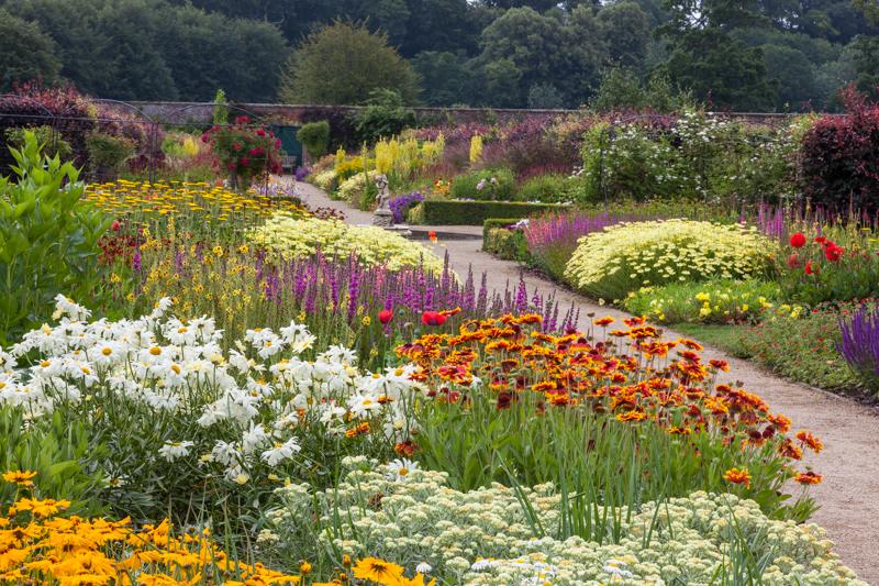 Hot Border-2 Helmsley Walled Garden