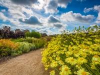Hot Border Helmsley Walled Garden
